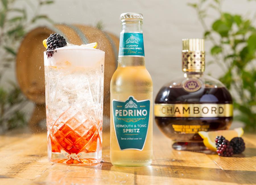 Bramble Spritz Cocktail
