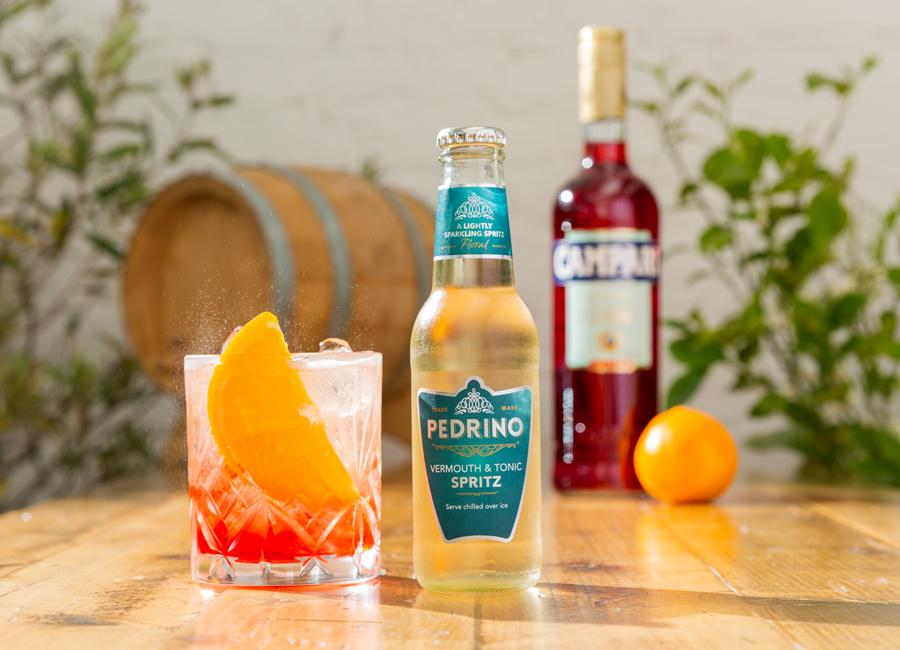 Negroni Spritz Cocktail