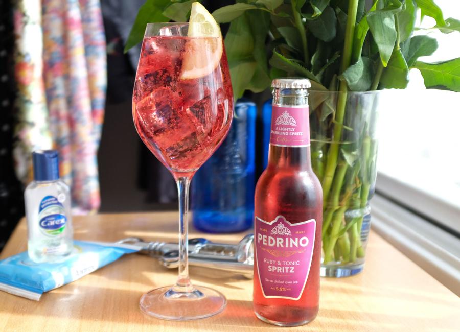 Quarantine Cocktails | Episode. 1 | Ruby Spritz
