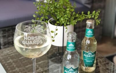 Mediterranean G&T with Horse Guards Gin