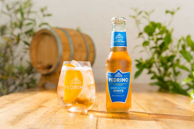 Pedrino Sherry and Tonic Spritz
