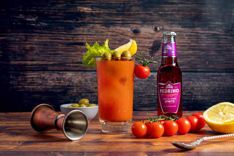 Bloody Mary Spritz